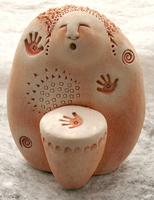 Image Drumming Woman