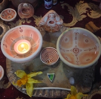 Image Bowls (set of two)<br>for the Womb Blessing